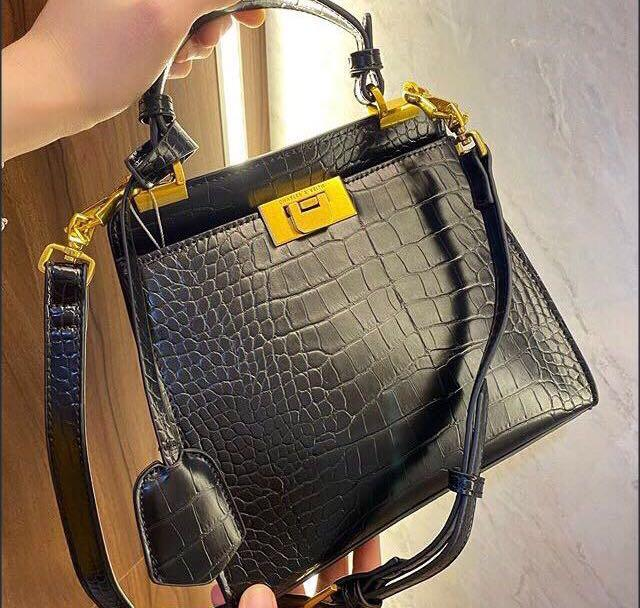 Charles and Keith Angular Bag
