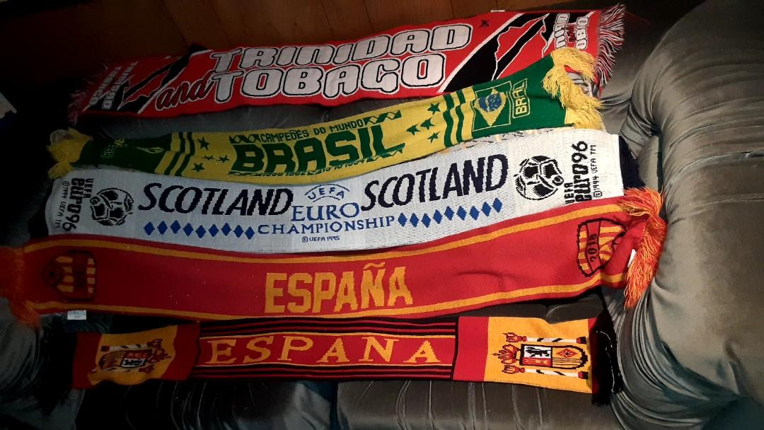 Collectable Soccer Scarves