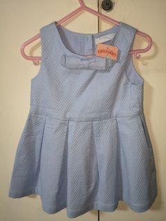 Gingersnapa Blue Girls Dress 18m