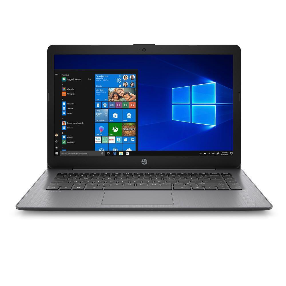 HP 14-cb174wm Intel Stream 14″ HD, Intel Celeron N4000, 4GB RAM, 64GB eMMC, Intel UHD Graphics 600, Win10S – Black