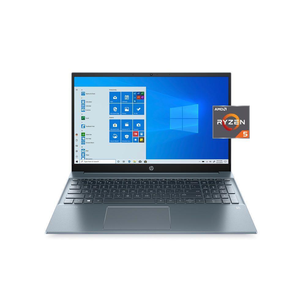 HP 15-eh0090wm Pavilion 15.6″ FHD Ryzen 5 4500U 2.37GHz AMD Radeon Graphics 8GB RAM 512GB SSD Win 10 Home Blue