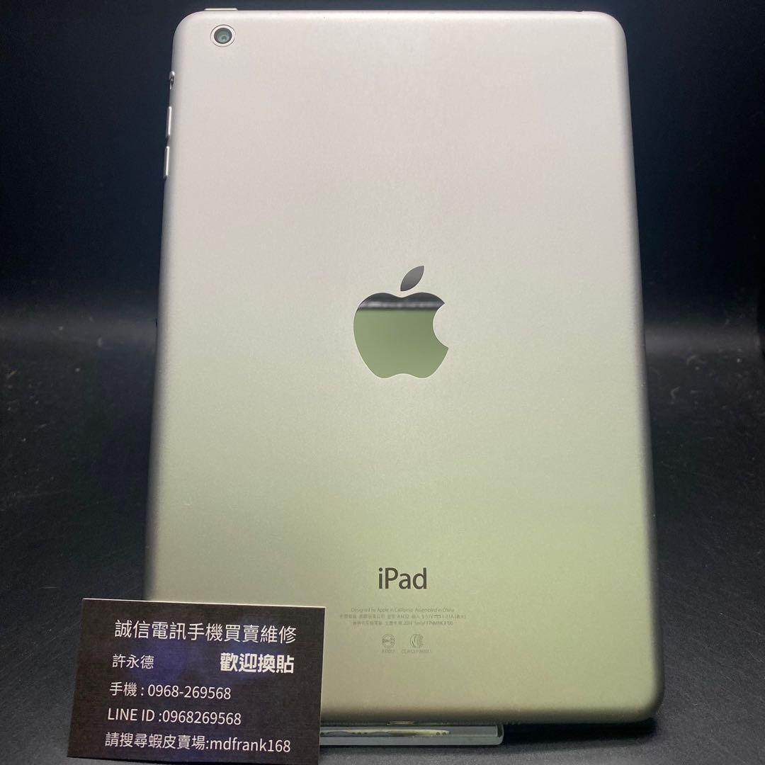 IPad mini1 white 16g 7.9-inch Wifi version with charger #JF196 IOS version: 9.35 $: 2700 On sale IPad mini1 白色16g 7.9吋 Wifi版附充電器#JF196 IOS版本:9.35 $:2700 特價中
