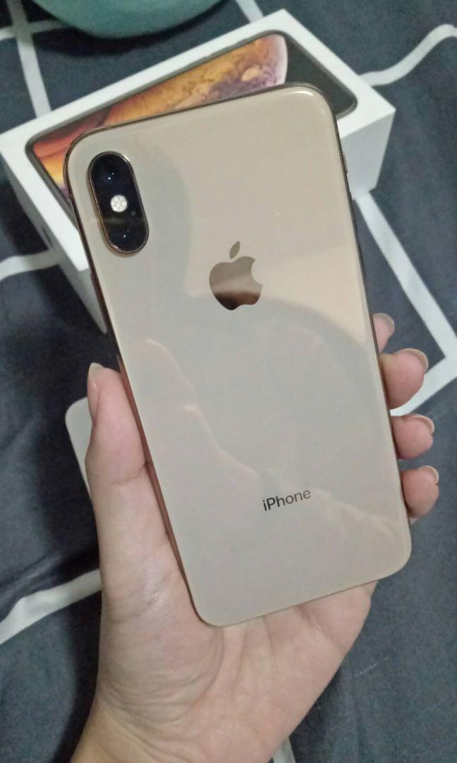 自售iPhone xs 金色64g