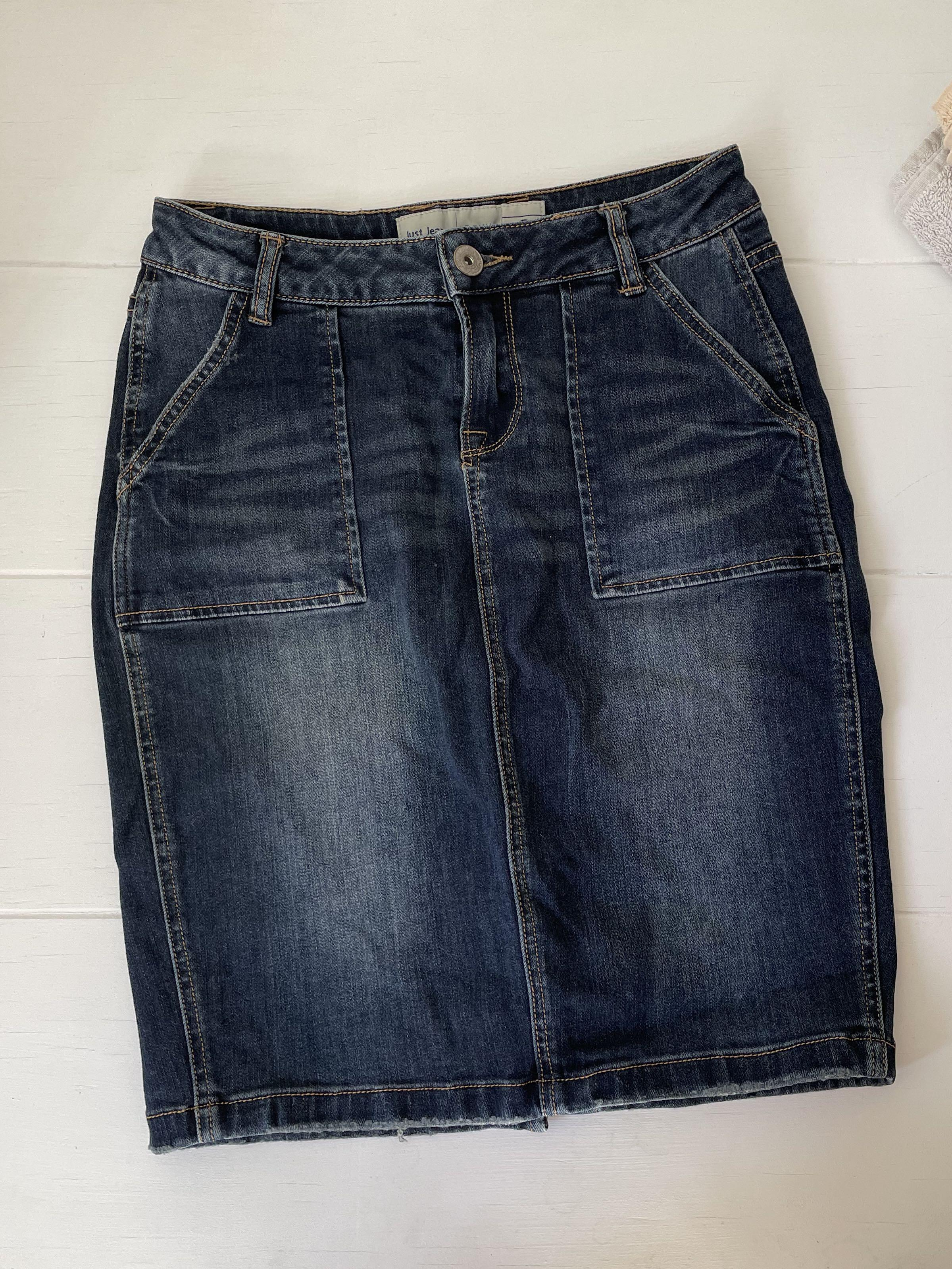 Just Jean Denim Skirt