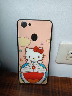 OPPO -A73全新手機殼 哆啦夢+KT貓