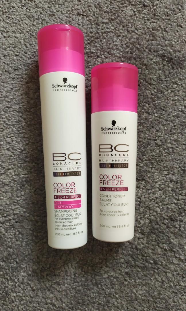 Schwarzkopf Colour Freeze Shampoo and Conditioner