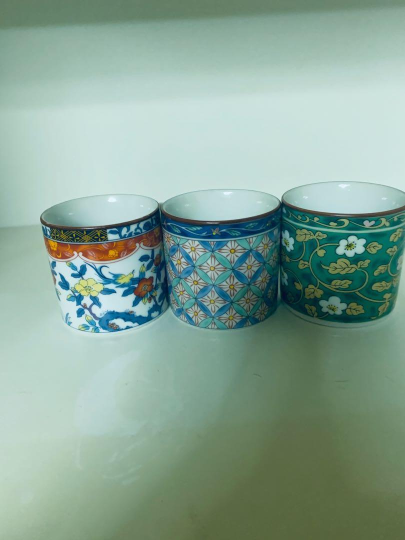 Tyler Vintage 中國風復古手工藝杯 3個