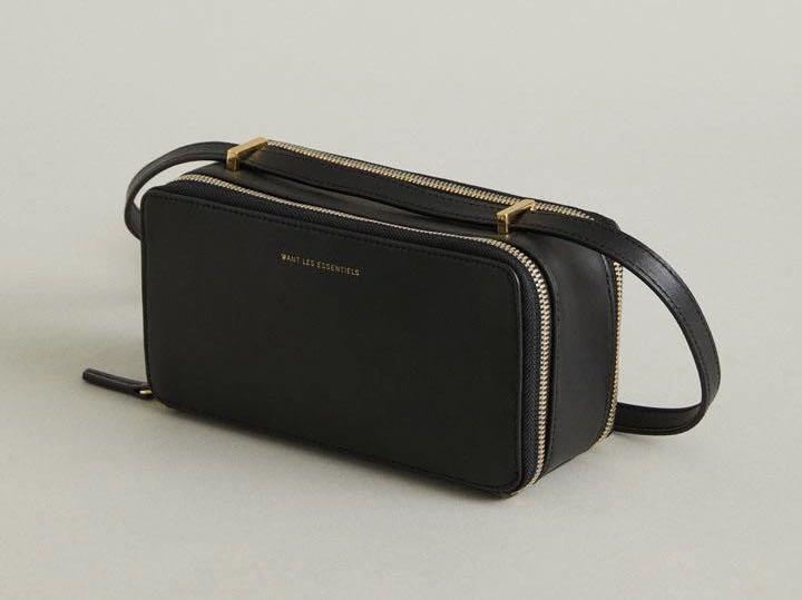 Want Les Essentiels Demiranda Black Crossbody Leather Bag