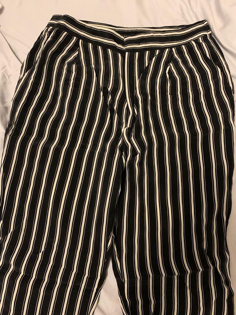 Women's Zara striped pants