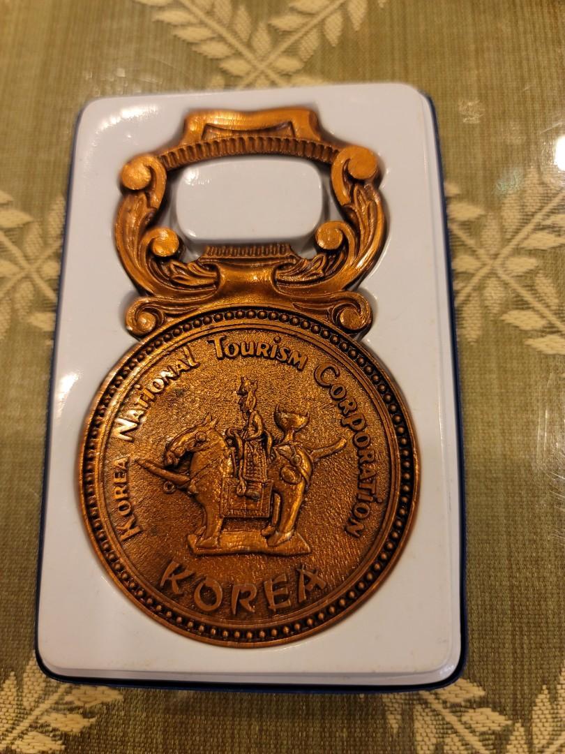 韓國精美銅紀念品(開瓶器)