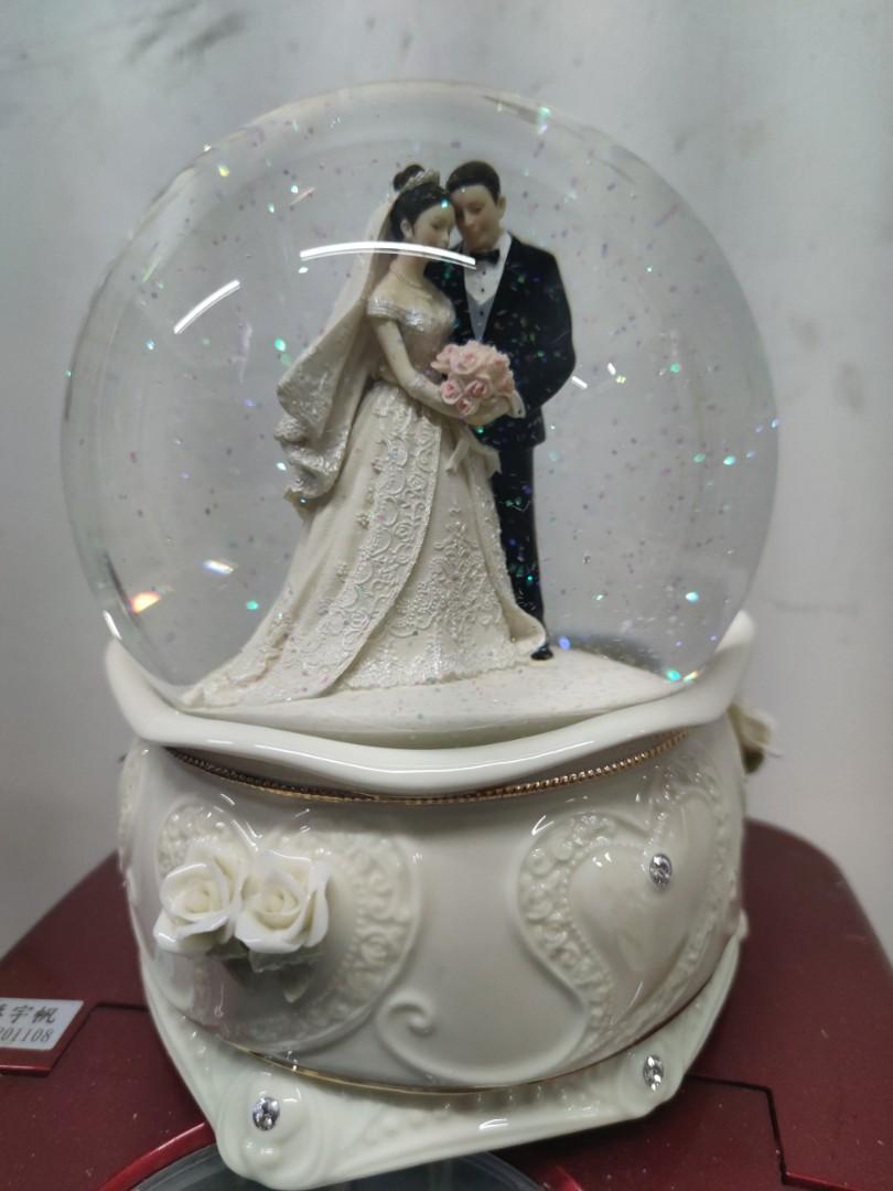 全新結婚音樂水晶球