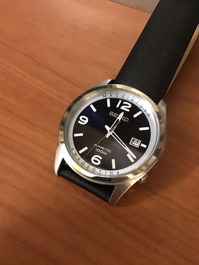 精工、麥金塔哲學聯名石英錶