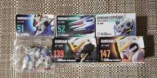 歡迎交換 6款 Fw Gundam Converge 00 高達系列