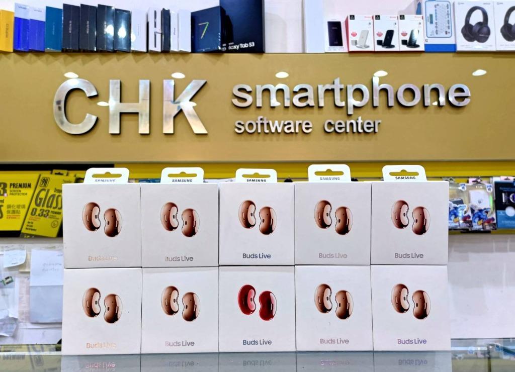 旋轉最便宜 SAMSUNG 三星 Galaxy Buds Live 真無線藍牙耳機 神腦公司貨 贈送透明保護殼