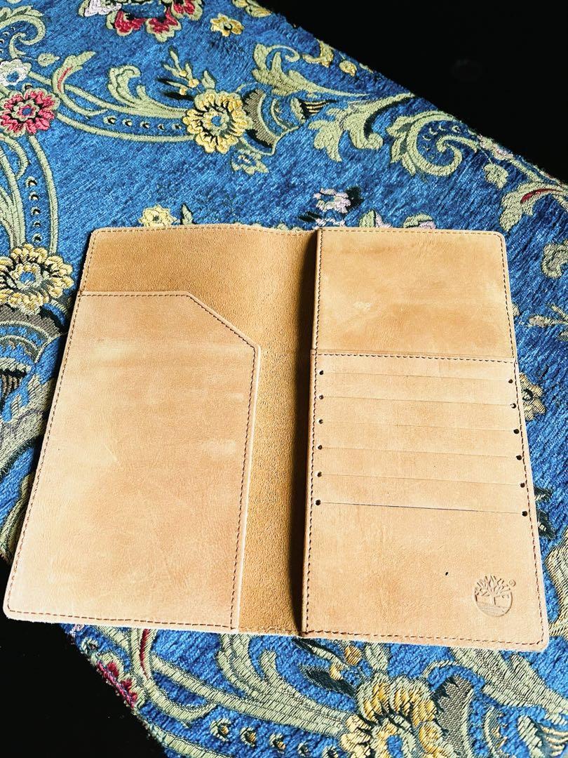 現貨 Timberland 仿舊 復古 護照長夾皮夾