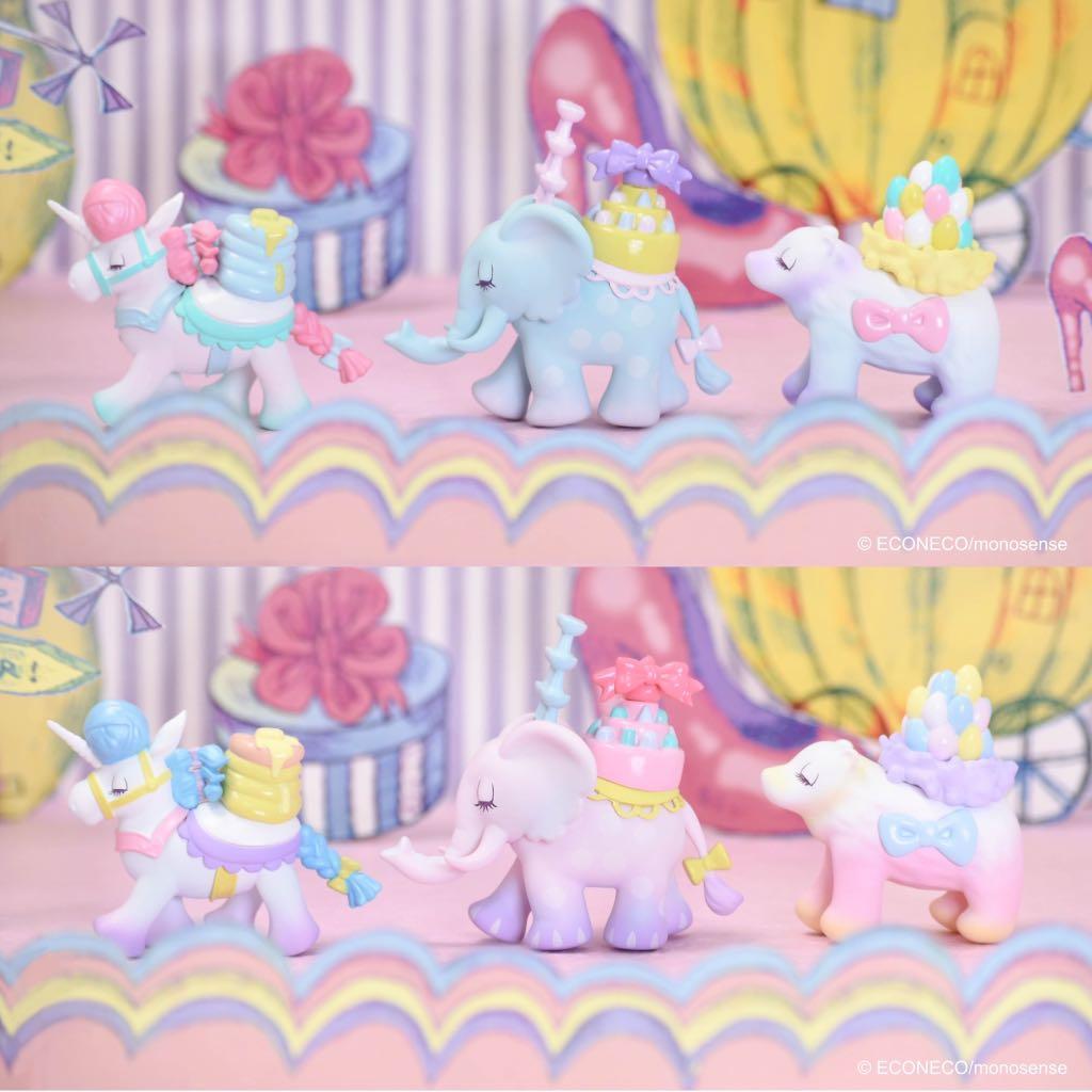 《預購》【 ZOO TOYS  玩具店 】 夥伴玩具 盒抽 日本 插畫家 繪子貓 ECONECO BABY BLIND BOX