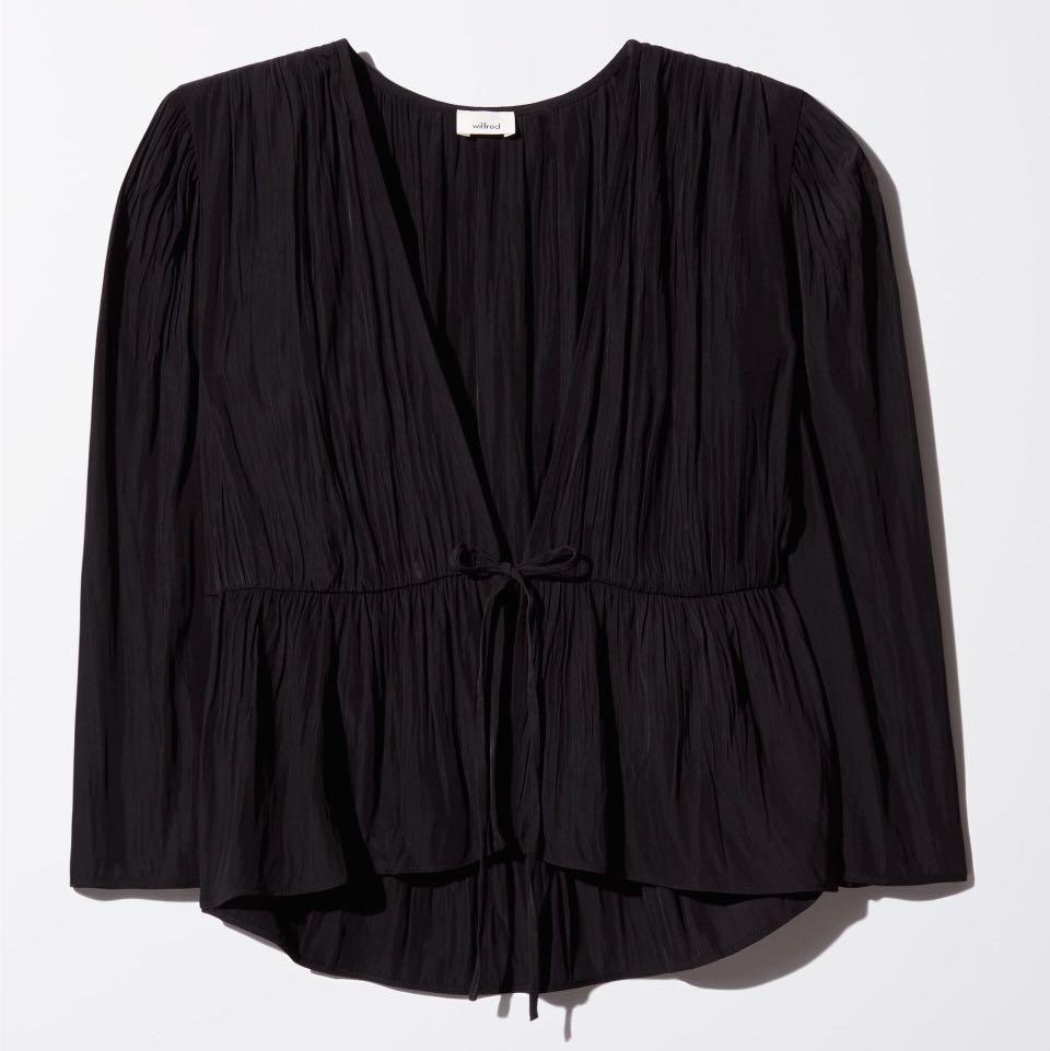 Aritzia Wilfred Shanina blouse