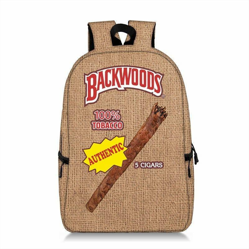 Authentic Backwoods 3D Custom Made Full Printed Backpack Clothing