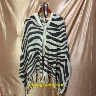 #AWALBULAN Zebra Rajut ; OUTER KNITWEAR ; RAJUT UNIK