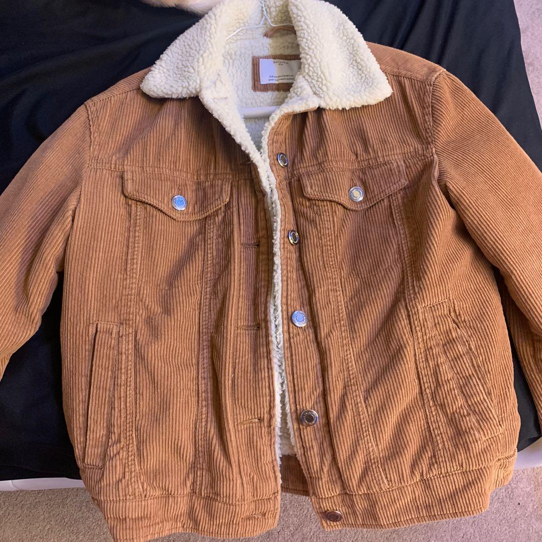 Berskha Brown Sherpa jacket