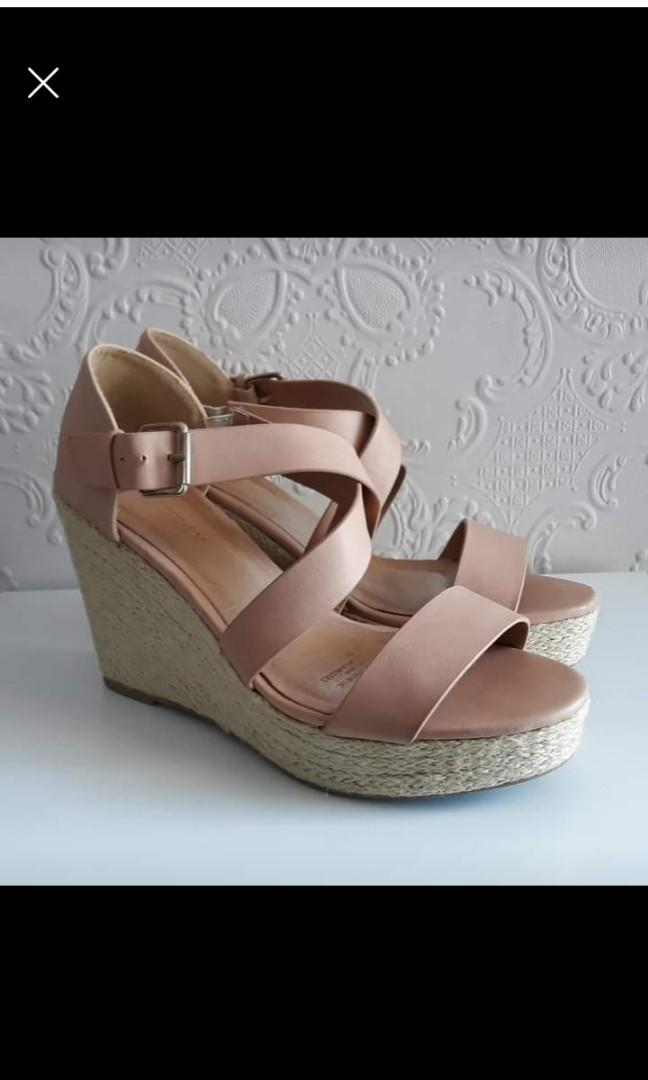 Blush Shoes Size 10