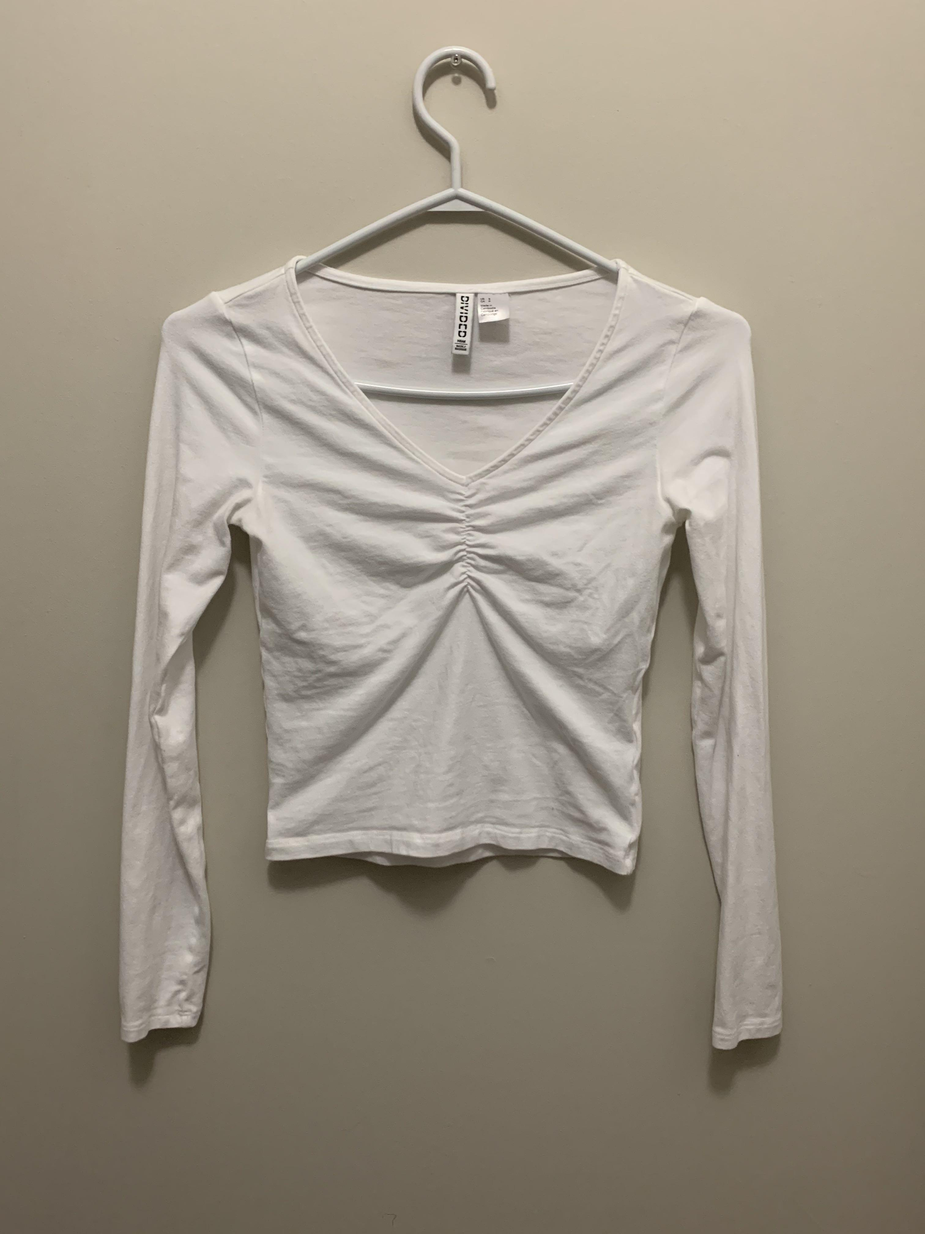 Cropped Runched Top
