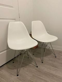 EAMES STYLE DINING/SIDE CHAIR (2)