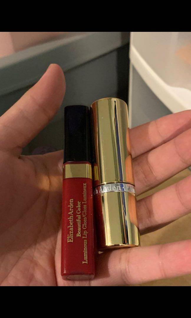 Elizabeth Arden lip products