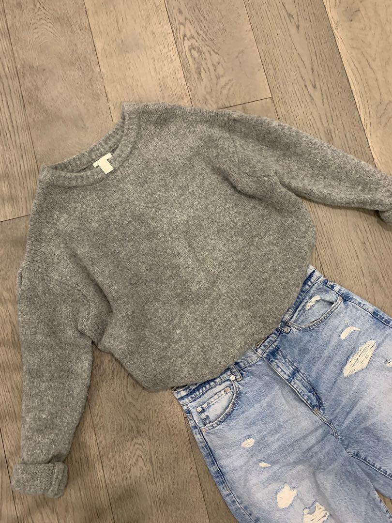 H&M Oversized Cozy Knit Sweater