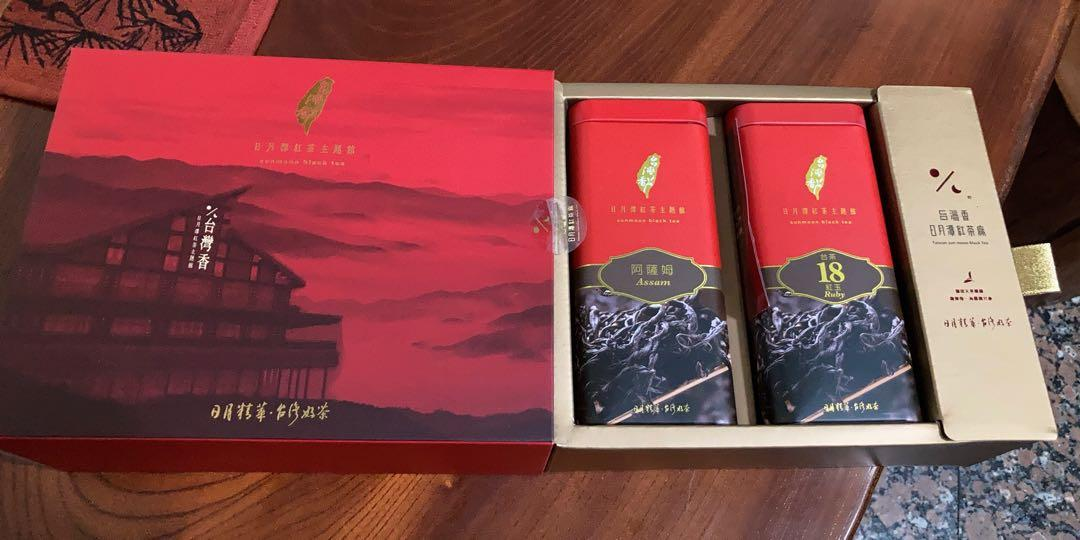 Hohocha 喝喝茶-頂級禮盒(台茶18號紅玉+阿薩姆紅茶)