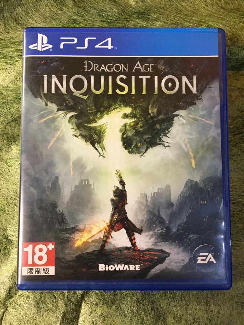 """Kaset PS4 """"Dragon Age Inquisition"""" BioWare"""