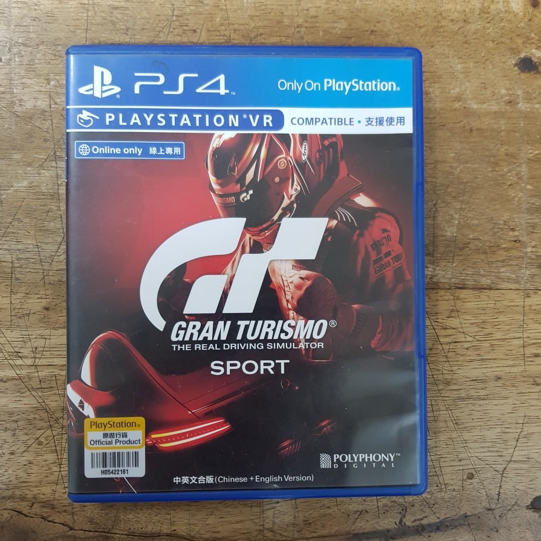 KASET PS4 GRAN TURISMO SPORT REGION 3