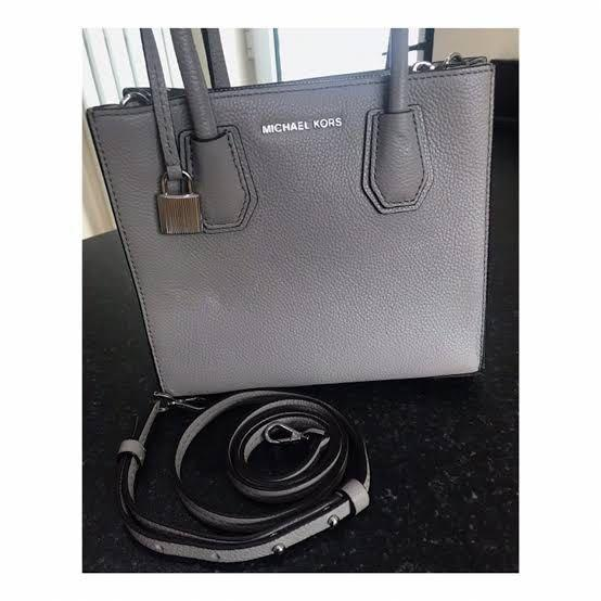 Michael Kors Mercer Grey  Bag (minus di handel)