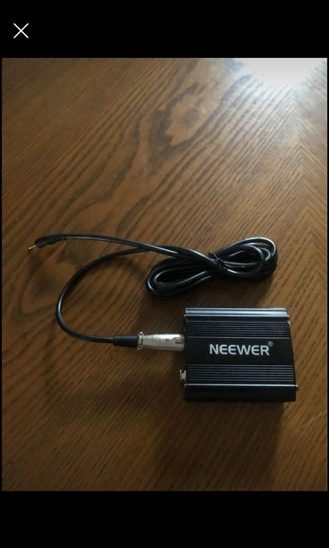 Neewer Audio Cable For Any Condenser Microphone Music Recording Equiptment