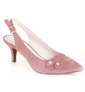 New Anne Klein Leather Slingback Pumps Size 8