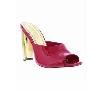 New In Box Liliana Daline Mules in Cherry Size 6