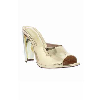 New Liliana Daline Mules in Gold Size 6 & Size 9