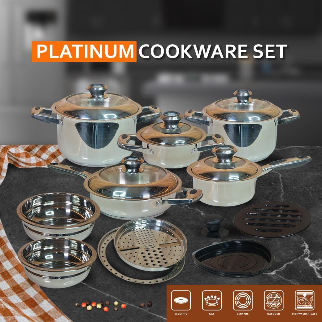 Panci set Platinum Cookware 20 pcs
