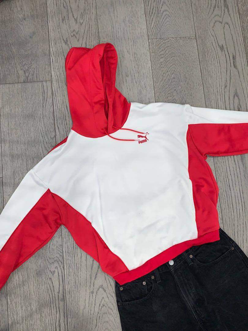 Puma Jersey Hoodie - Slightly Cropped
