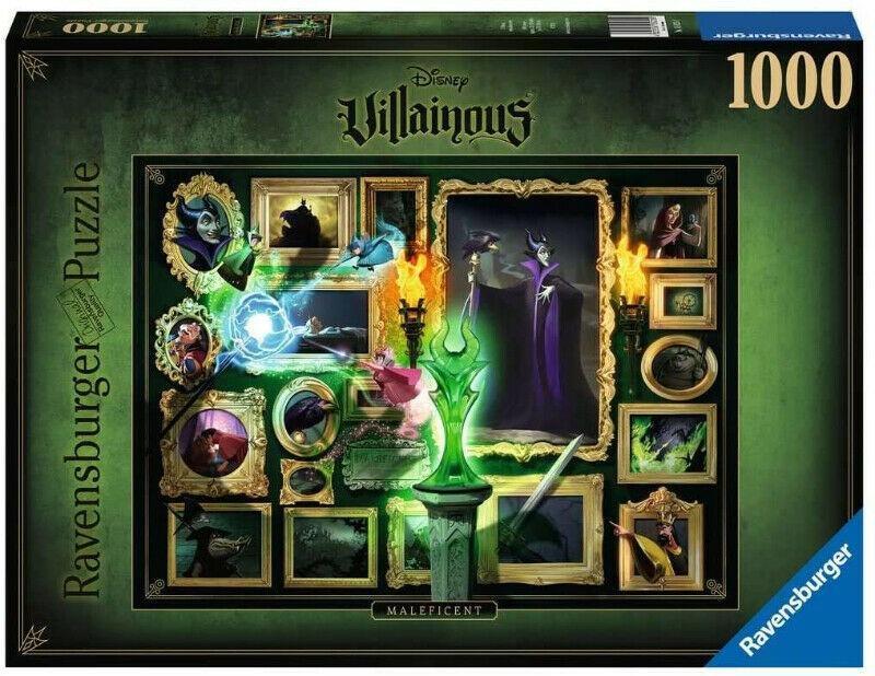 Ravensburger 15025 Disney Villainous Maleficent jigsaw puzzle