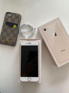 Rose Gold IPhone 8 64GB in excellent condition.l