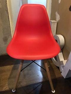 Scandinavian Nordic Chair Metal Wood