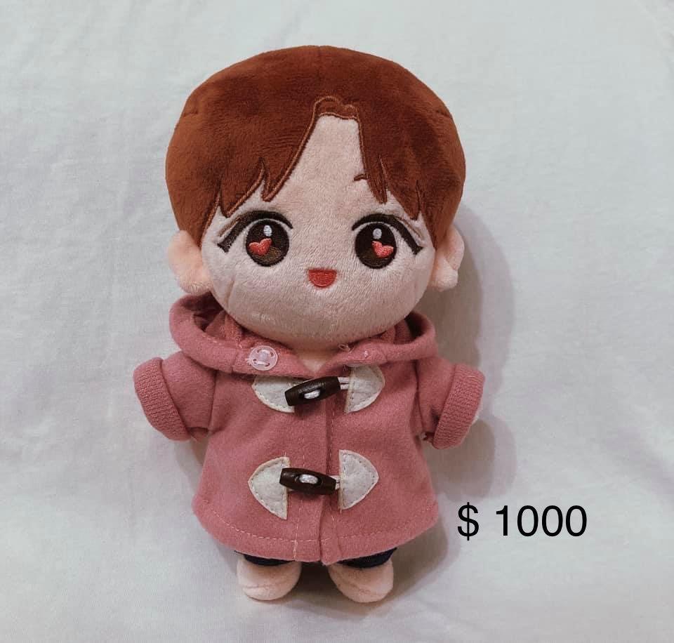 Seventeen 尹淨漢jeonghan 娃娃 20cm
