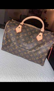 Speedy  lv with lock and strap
