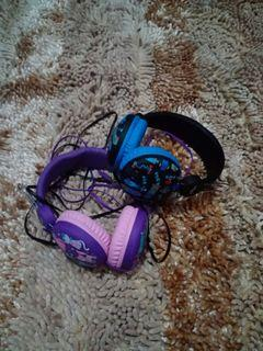 Take All 2Pcs Headset Smiggle Authentic