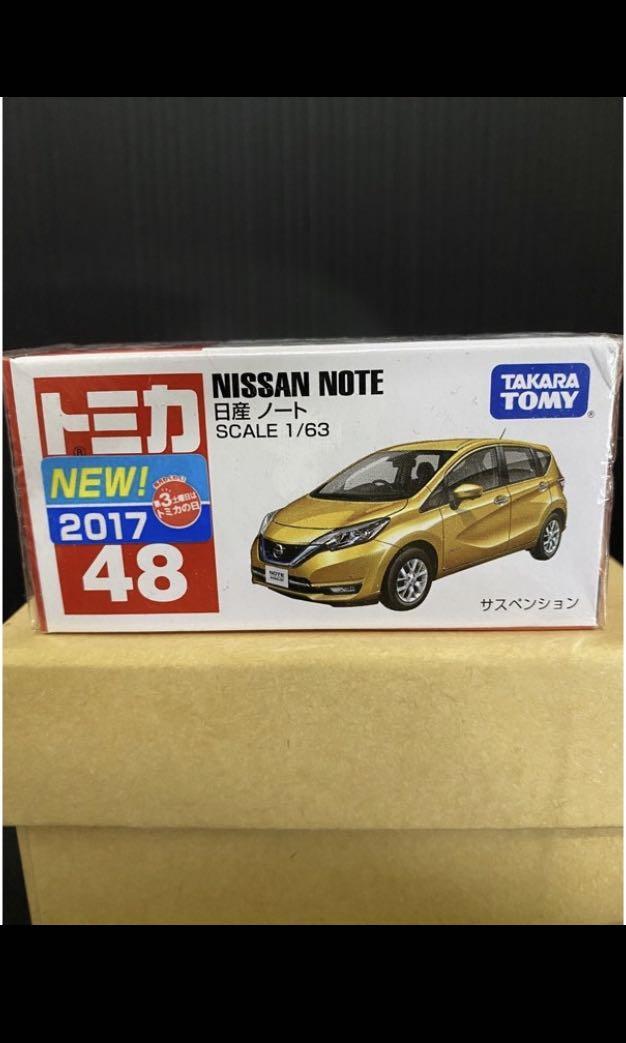 (全新)TOMICA 48 NISSAN NOTE