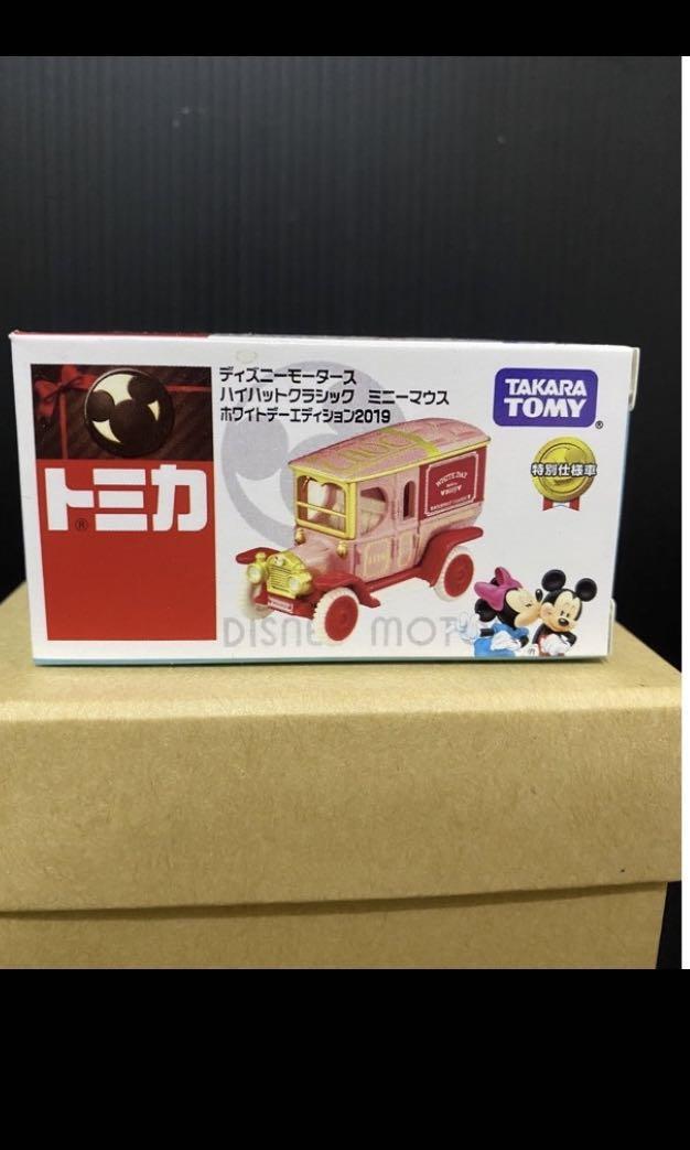 (全新)TOMICA 米老鼠 情人節特別款 老爺車