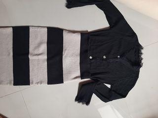 Top knit dan rok knit