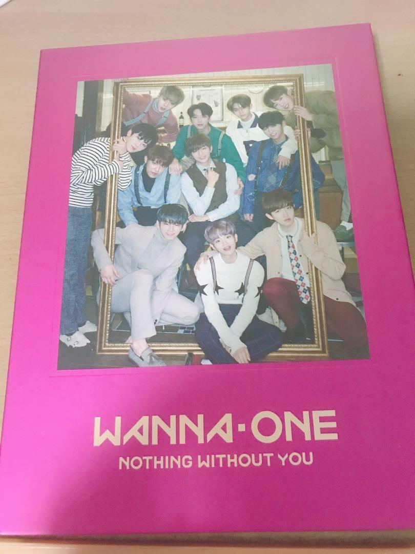Wanna one-nothing without you專輯