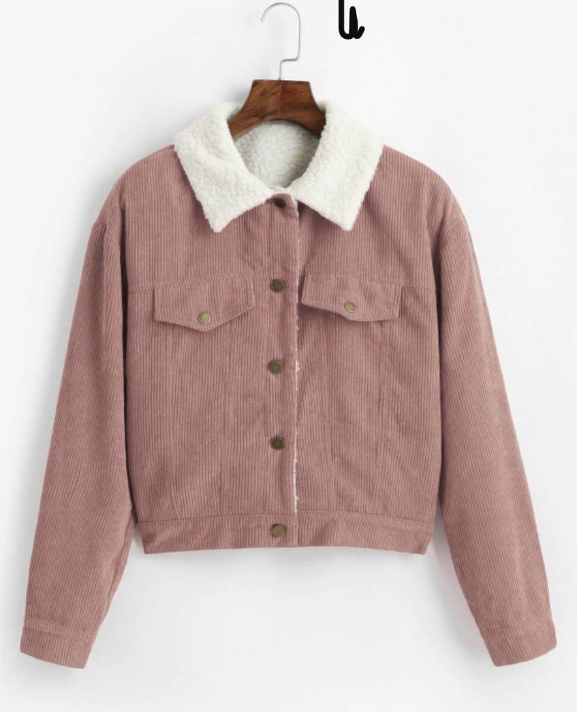 Zaful fleece lined jacket